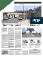 Cinco Túneles en Arequipa