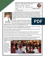 VFW Post 2593 Newsletter
