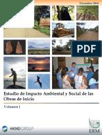 Estudio de Impacto Ambiental y Social