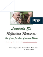 Laudato Si Reflection Resource on Care for Our Common Home