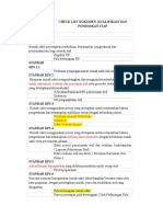 Cheklist Dokument KPS