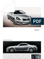 Lexus SC Brochure