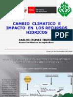 Cambio Climatico Impactos