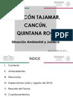 Conferencia de Prensa Tajamar 28 Enero Bis 2016 Profepa