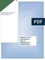 Analisis de mercado.Descripcion Del Producto. Alberto Cruz. 901-A