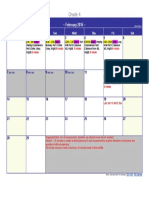 fsa schedule grade 4 ver