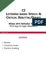 20151118 Winter2015RefresherTraining LB Speech Critical Rebuttal Notes-grandfinals
