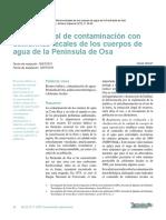 Contaminacion Con Coliformes FecalesPEDRO