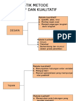 Karakteristik Metode Kuantitatif Dan Kualitatif