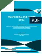 Mushrooms and Health Report 2012