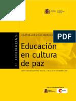 UNESCO Educacion en Cultura de Paz