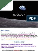 Ecology Lec12