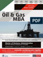 Oil & Gas MBA Prospectus Interactive Website Latest