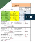 Blaine Apparatus Calibration sheet
