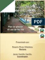 Plan de gestión de uso de Las tic jomaco renovado