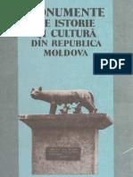 Monumente de Istorie şi cultură din Republica Moldova, Chişinău 1994