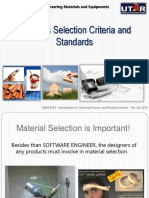 Topic 1 1 Materials Selection Criteria and Standards