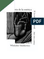 Tatarkiewicz - Historia de La Estética v. III (Medieval)
