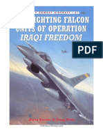F16 Fighting Falcon Units of Operation Iraqi Freedom Chapter on 410 AEW With H23 Only