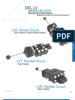 Prince Hydraulics - LVS Loader Valve Offered by PRC Industrial Supply