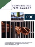 Plan Desarrollo Territorial Ministerio Gobierno Salta. Comunidad Penitenciaria y Discriminación