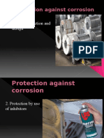 Protection against corrosion
