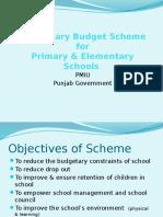 Non Salary Budget Scheme
