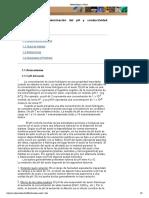 Determinación PH y CE