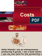 Theory of costs