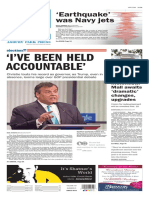 Asbury Park Press front page Friday, Jan. 29 2016