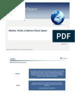 Mision, Vision y Valores Future Space