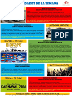 Actividades de la Escuela de Español 01 - 07 Febrero