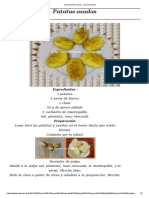 Patatas Asadas Estilo Marroquí