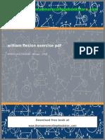 William Flexion Exercise PDF 1