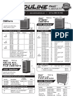 Moduline ProIITM Series Cabinets and Components Price List