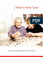 What is Home Care Manual