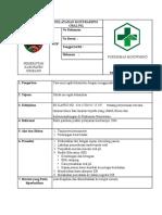 SOP Pelayanan Kontrasepsi Oral Pil