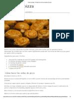 Rollos de Pizza - Recetas de Cocina y Consejos de Salud