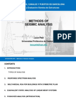 3)III Methods of Seismic Analysis