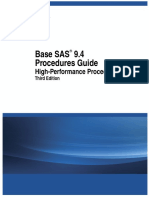 Base SAS 9.4 Procedures Guide= High-Performance Procedures, Third Edition