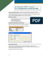 3) Servidor de telemetr¡a - Configuraci¢n remota de GRD