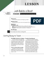 1st Quarter 2016 Lesson 5 Kindergarten Teachers Guide
