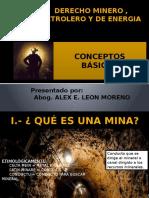 Derecho Minero Clase II Conceptos