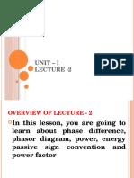 Unit – I Lecture 2
