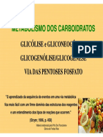 Metabolismo de Carboidratos Modo de Compatibilidade