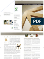Certified Wood for the Furniture Industry
