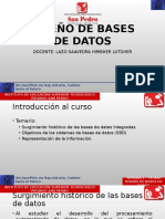 Diseño de Bases de Datos Teoría