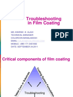 Troubleshooting in Film Coating