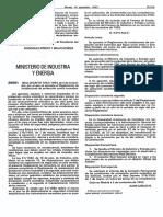 Real Decreto 1942-1993 Aprob. Reglam. PCI