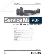 PHILIPS HTS3365/55 Service Manual